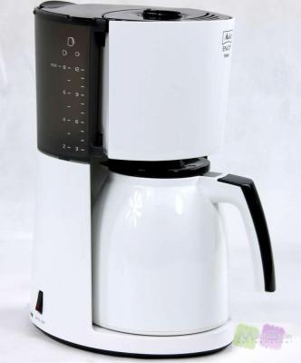 melitta typ 100208 kaffeeautomat enjoy therm schwarz wei kaffeemaschine ebay. Black Bedroom Furniture Sets. Home Design Ideas
