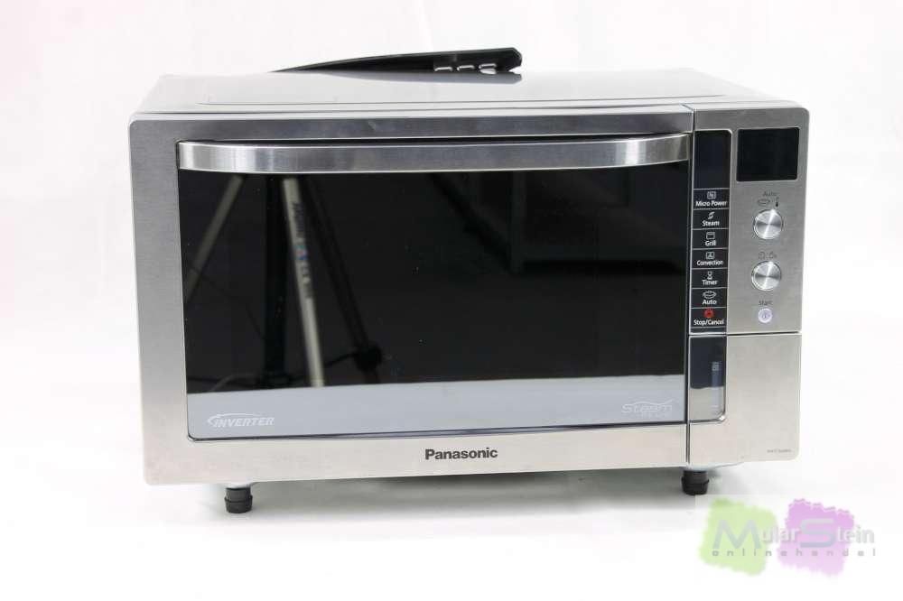 panasonic nn cs598sepg mikrowelle 1000 watt grill 1300 watt 27 l dampfgarrer ebay. Black Bedroom Furniture Sets. Home Design Ideas