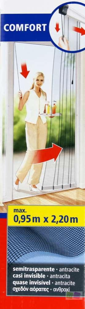 tesa 55845 00001 00 tesa lamellent r comfort anthrazit fliegengitter fliegensch ebay. Black Bedroom Furniture Sets. Home Design Ideas