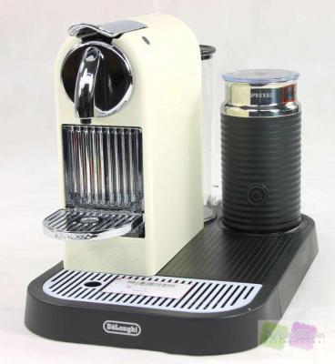 delonghi en 266 cwae nespresso citiz kapselmaschine kaffeepadmaschine ebay. Black Bedroom Furniture Sets. Home Design Ideas