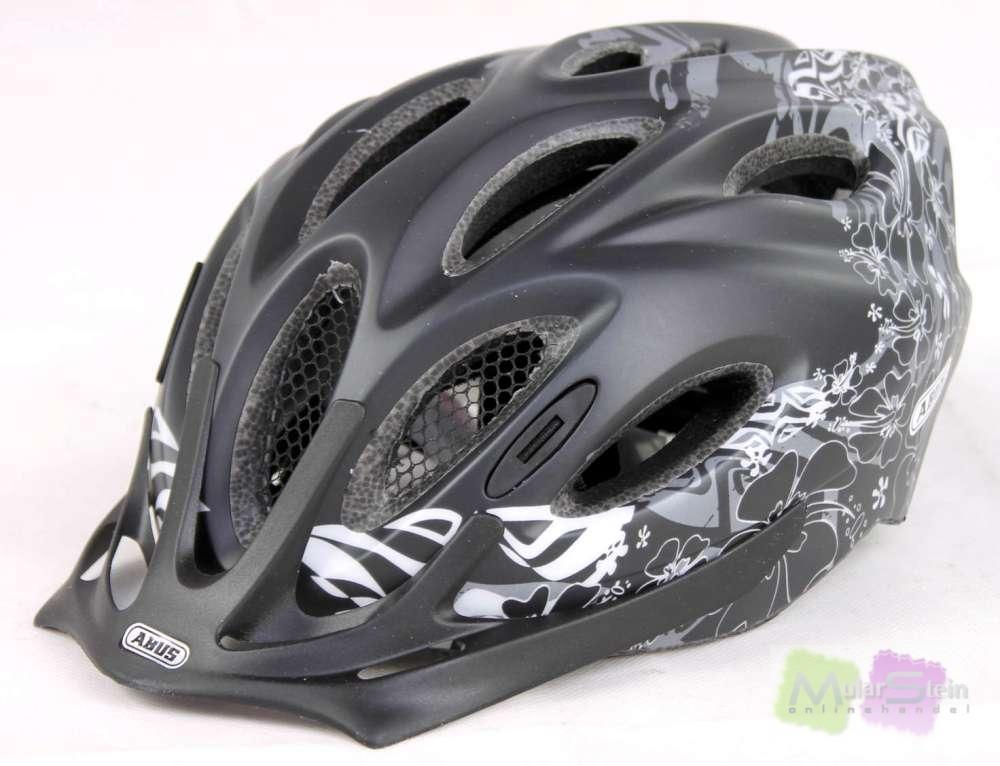 abus damen fahrradhelm arica maori silver 58 62 cm helm