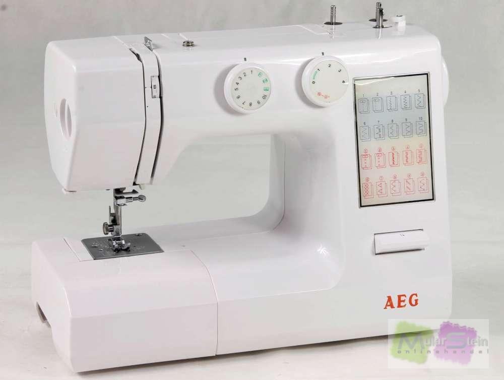 AEG NM 824 Nähmaschine  eBay ~ Nähmaschine Aeg