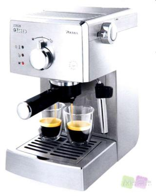 philips saeco hd8327 01 siebtr ger edelstahl esperessomaschine kaffeemaschine ebay. Black Bedroom Furniture Sets. Home Design Ideas
