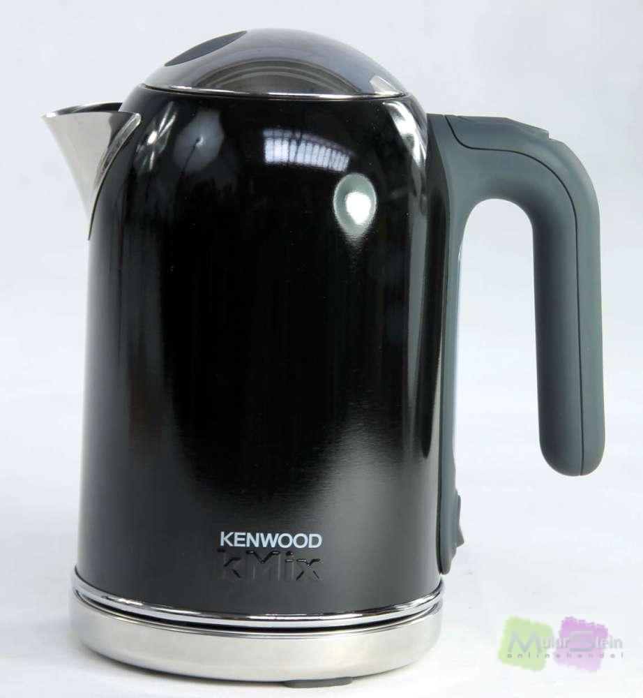 kenwood wasserkocher kmix sjm 034 1 6 liter pfeffer schwarz ebay. Black Bedroom Furniture Sets. Home Design Ideas