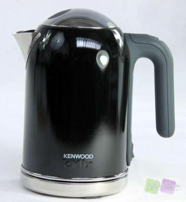 kenwood wasserkocher kmix sjm 034 1 6 liter pfeffer schwarz ebay. Black Bedroom Furniture Sets. Home Design Ideas