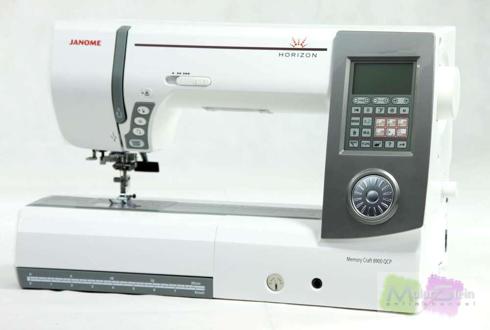 Janome horizon mc 8900 qcp n hmaschine n hautomat for Janome memory craft 9000 problems