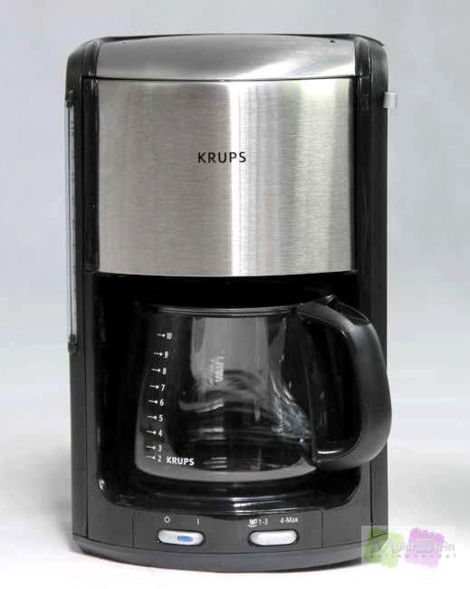 krups fmd344 sw chm kaffeeautomat proaroma plus chrom ebay. Black Bedroom Furniture Sets. Home Design Ideas