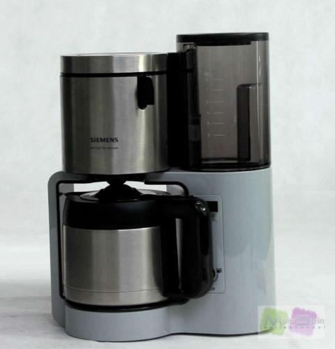 siemens tc86505 kaffeemaschine mit edelstahl thermokanne. Black Bedroom Furniture Sets. Home Design Ideas
