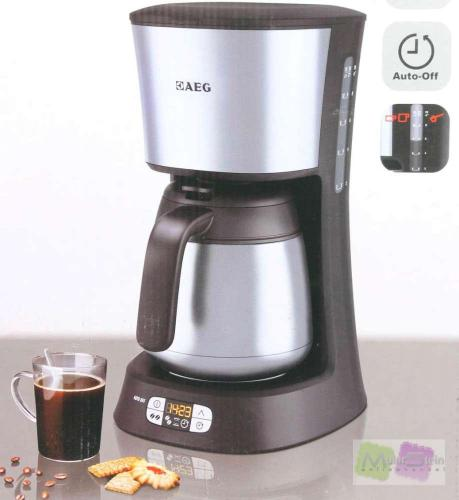 Aeg ergosense kf 5265 kaffeeautomat edelstahl for Aeg kaffeeautomat