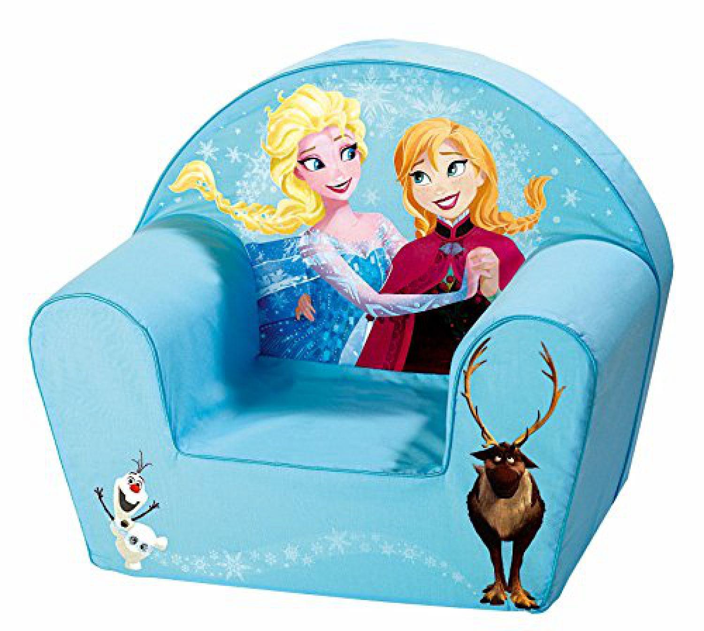 Kindersessel blau  Disney Sessel, blau Anna und Elsa Frozen Kindersessel 32 x 42 x 46 ...