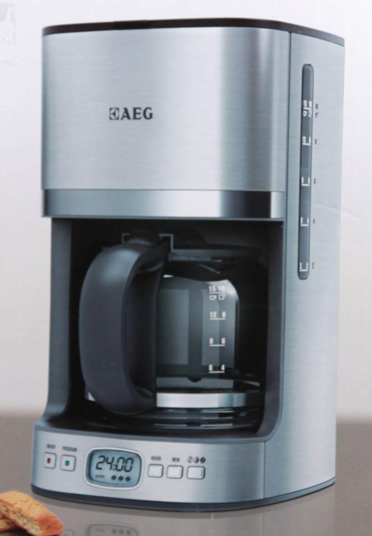aeg kf 7500 kaffeeautomat kaffeemaschine programmierbarer timer automatische 7332543255221 ebay. Black Bedroom Furniture Sets. Home Design Ideas