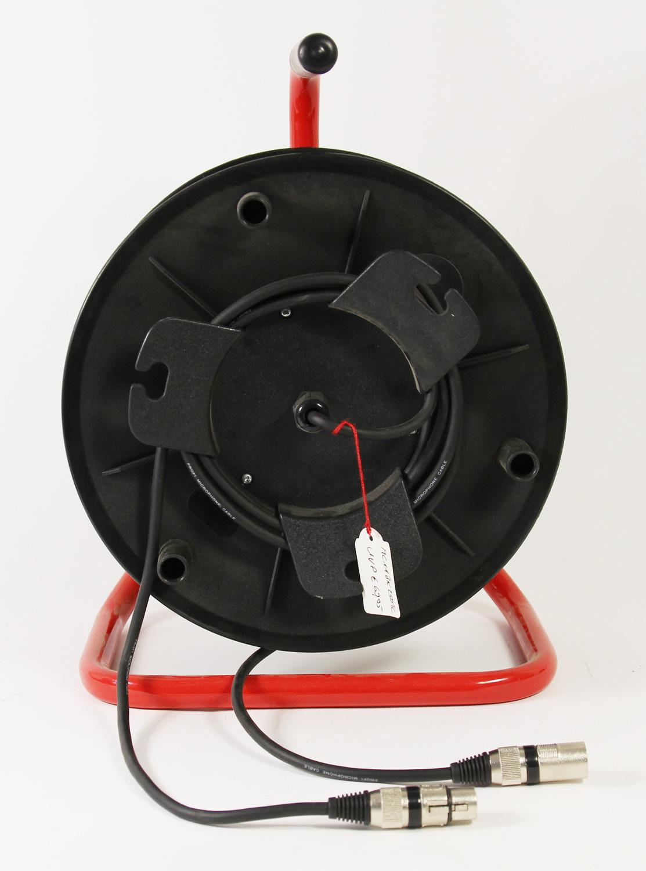 kabeltrommel xlr m nnlich auf xlr weiblich 25 meter kabel ebay. Black Bedroom Furniture Sets. Home Design Ideas