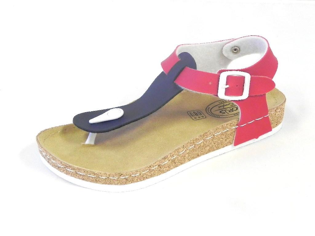 loris comfort damen sandale zehentrenner fu bett hausschuhe schuhe ebay. Black Bedroom Furniture Sets. Home Design Ideas