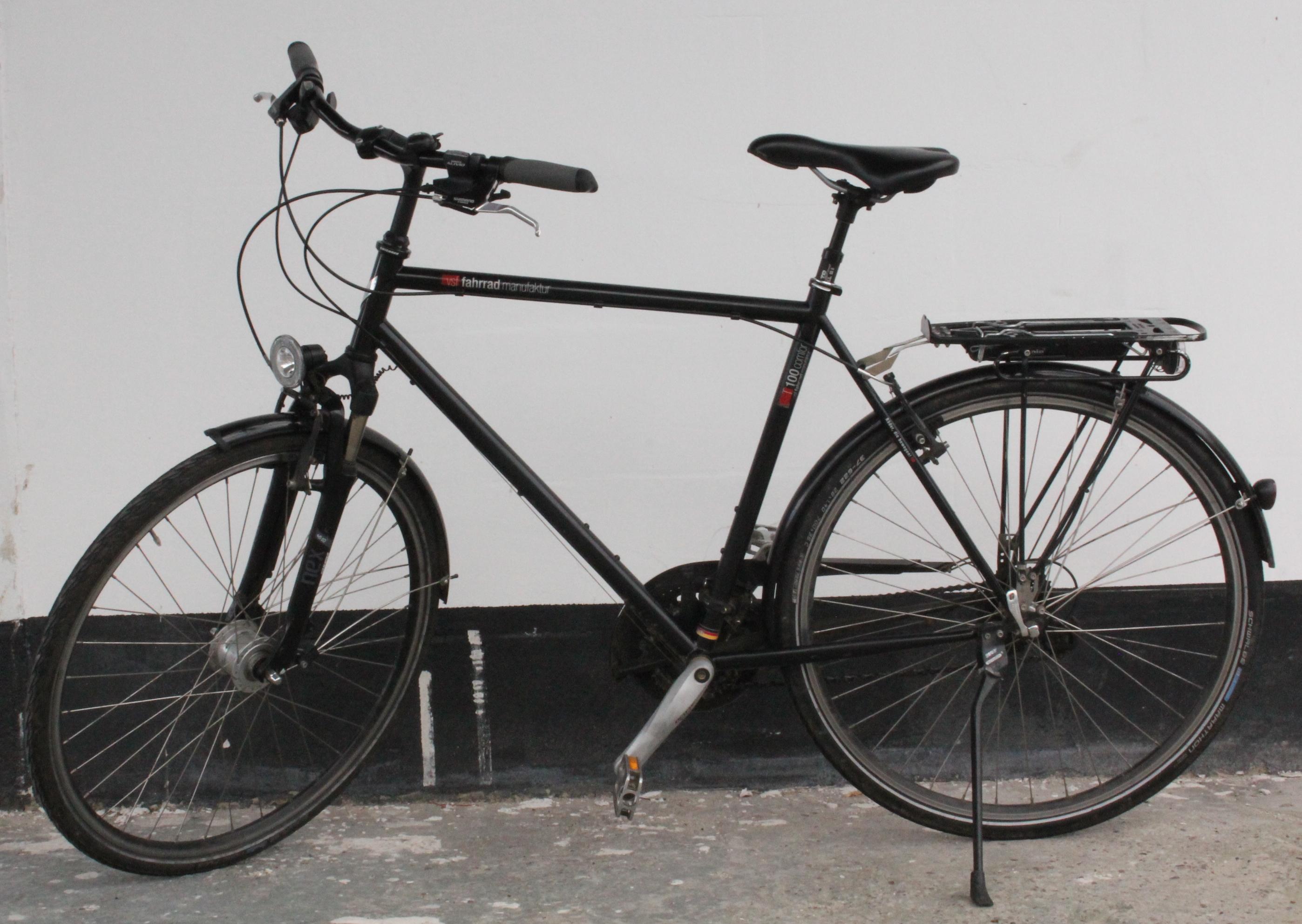vsf fahrradmanufaktur t100 27 gang herren fahrrad ebay. Black Bedroom Furniture Sets. Home Design Ideas