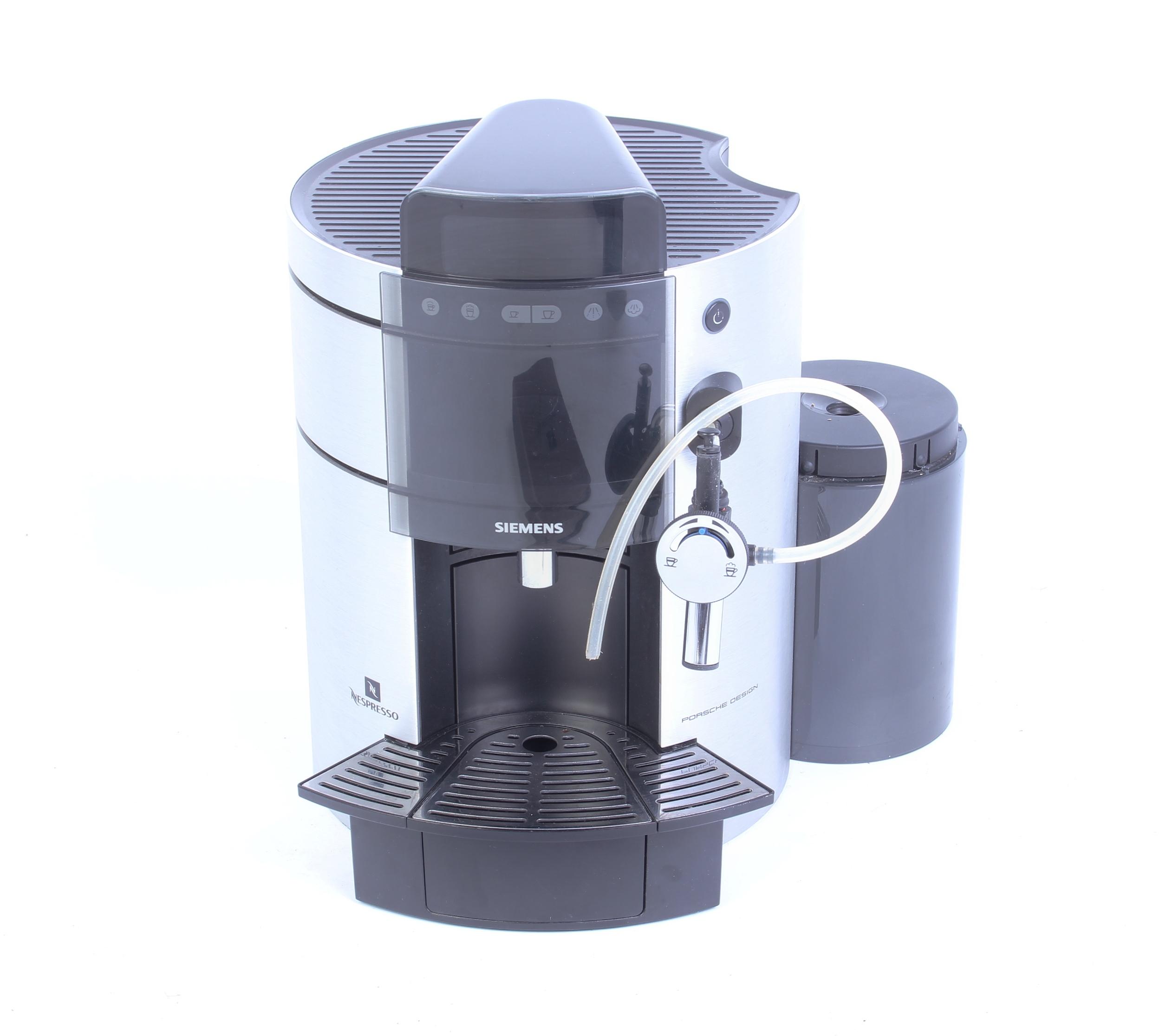 siemens tk911 n2 nespresso maschine porsche design. Black Bedroom Furniture Sets. Home Design Ideas