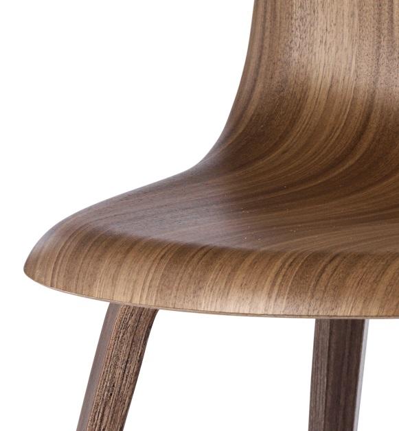Gubi 5 stuhl aus amerikanischer walnuss luxus komplot - Amerikanische stuhle ...