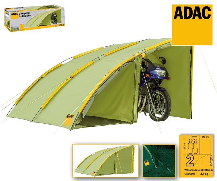 adac biker zelt 2 personen gr n 70204 zelt motorrad garage. Black Bedroom Furniture Sets. Home Design Ideas