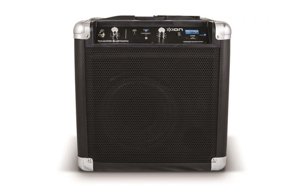 ion audio tailgater bluetooth schwarz lautsprecher mobiles soundsystem radio ebay. Black Bedroom Furniture Sets. Home Design Ideas