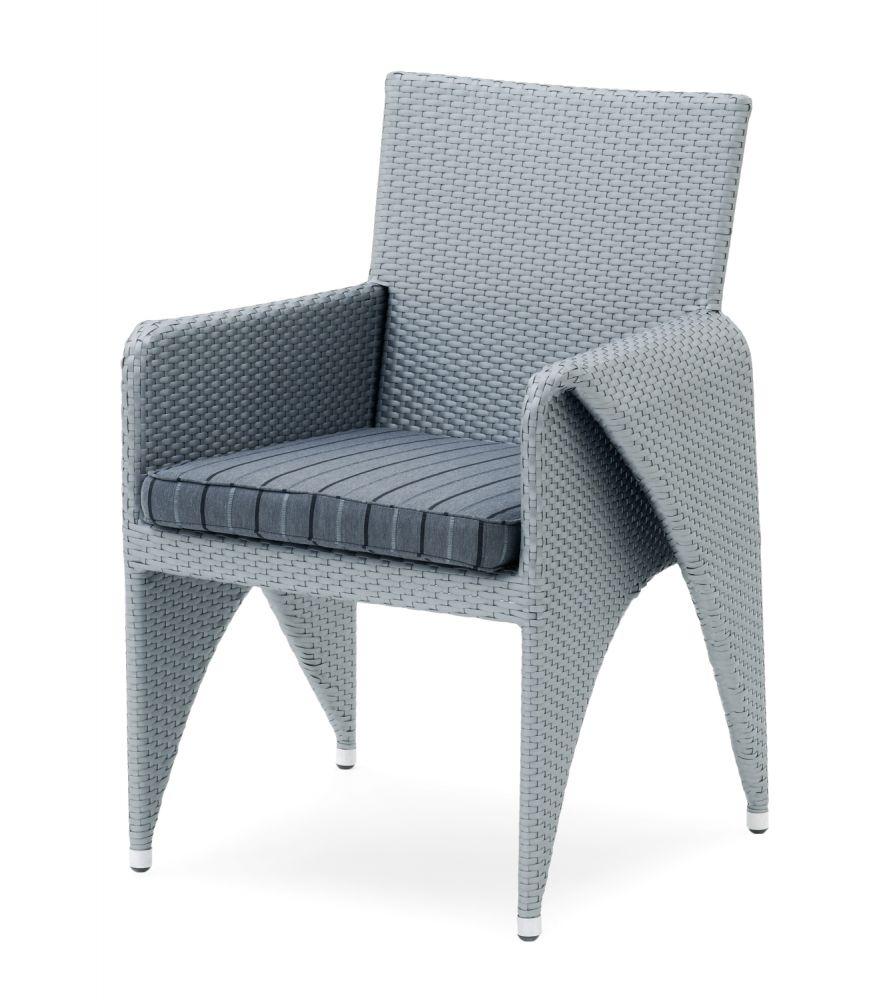 2x GarVida Sinala Sessel Mit Sitzkissen Kunststofffasergeflecht 877607    Bild 1