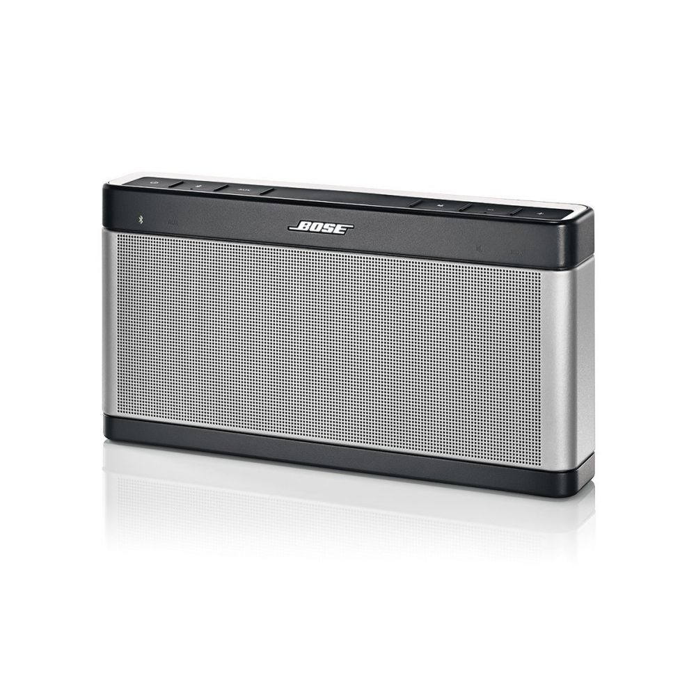bose soundlink bluetooth mobile speaker lautsprecher iii silber ebay. Black Bedroom Furniture Sets. Home Design Ideas