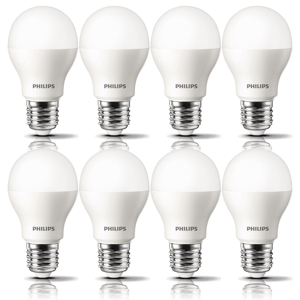 6 x philips led gl hbirne 9 5w 60w e27 warmwei 806lm energiesparlampe corepro ebay. Black Bedroom Furniture Sets. Home Design Ideas