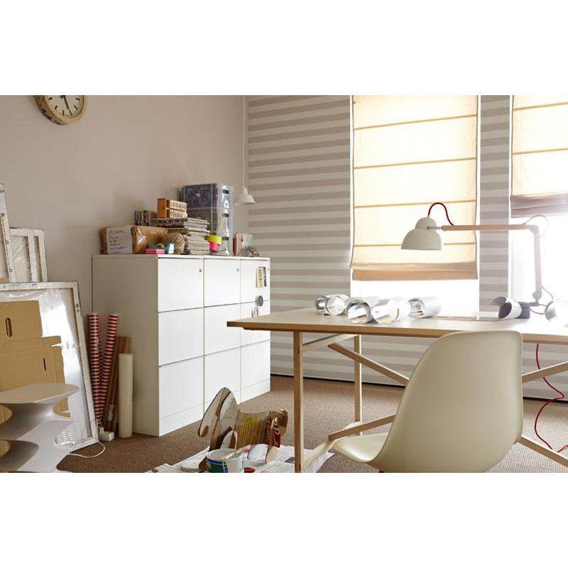 sch ner wohnen raffrollo cordoba 80 x 190cm faltrollo. Black Bedroom Furniture Sets. Home Design Ideas