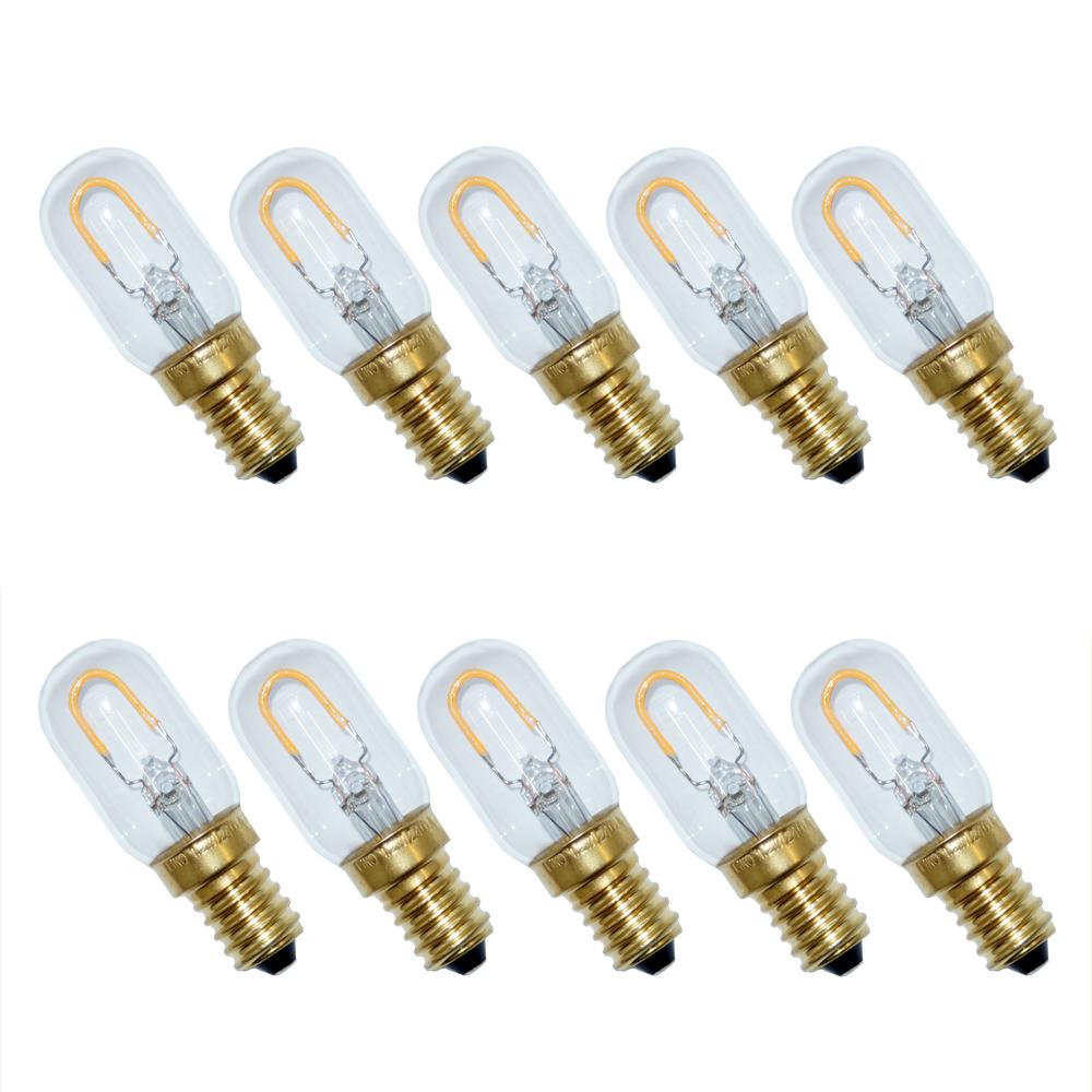 filament led k hlschranklampe r hre 1w 15w e14 warmwei kaltwei t22x62mm ebay. Black Bedroom Furniture Sets. Home Design Ideas