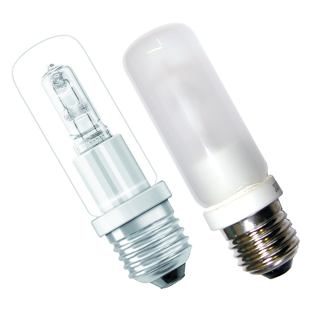 halogen lightbulb e27 mat clear bulbs osram halolux ceram eco tube ebay. Black Bedroom Furniture Sets. Home Design Ideas