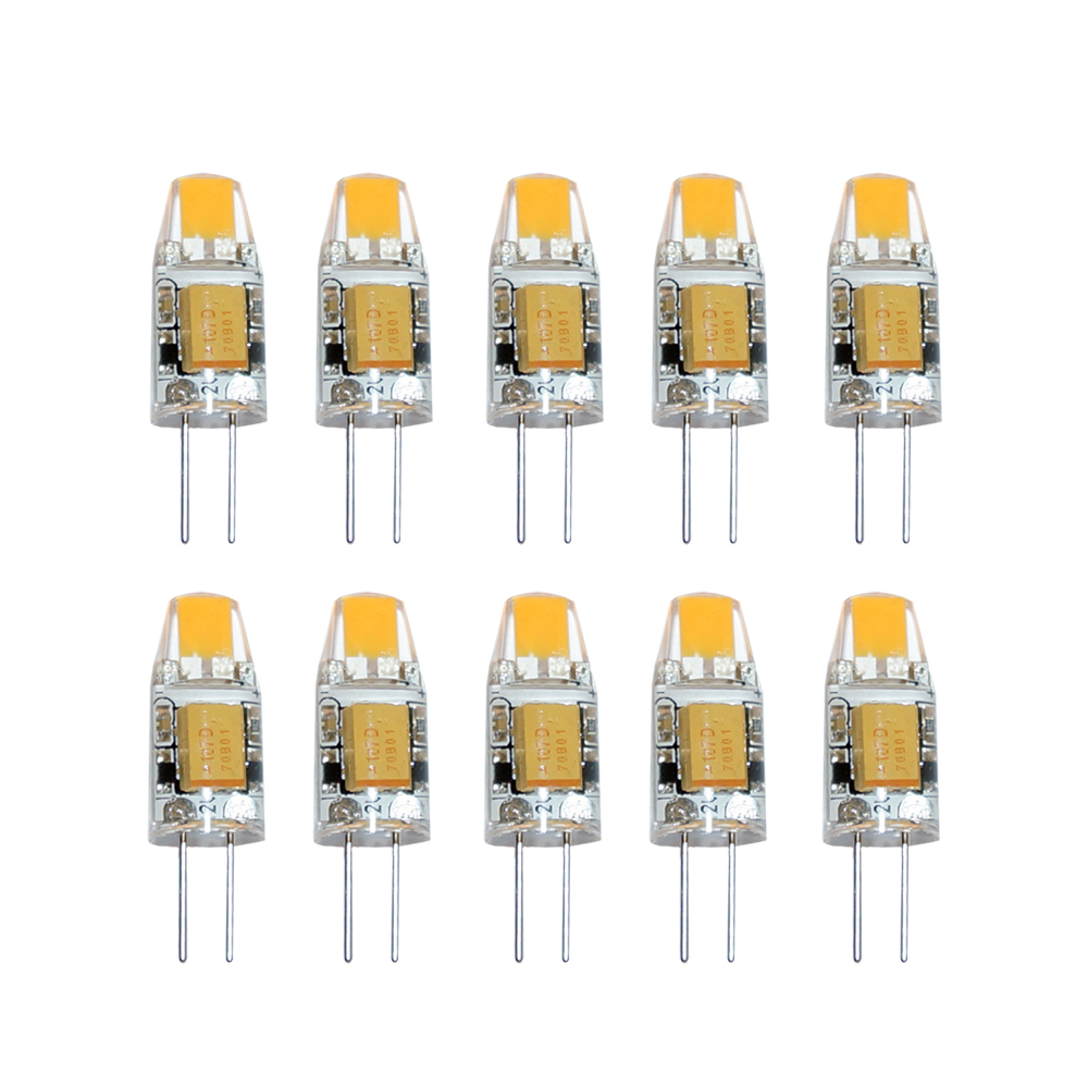 10x led g4 cob 1w 12v warmwei 2700k 100lm ersatz f halogenleuchtmittel 10w 360 ebay. Black Bedroom Furniture Sets. Home Design Ideas