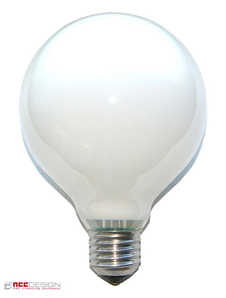 1 x globe gl hbirne 100w e27 opal g95 95mm globelampe gl hlampe 100 watt birnen ebay. Black Bedroom Furniture Sets. Home Design Ideas