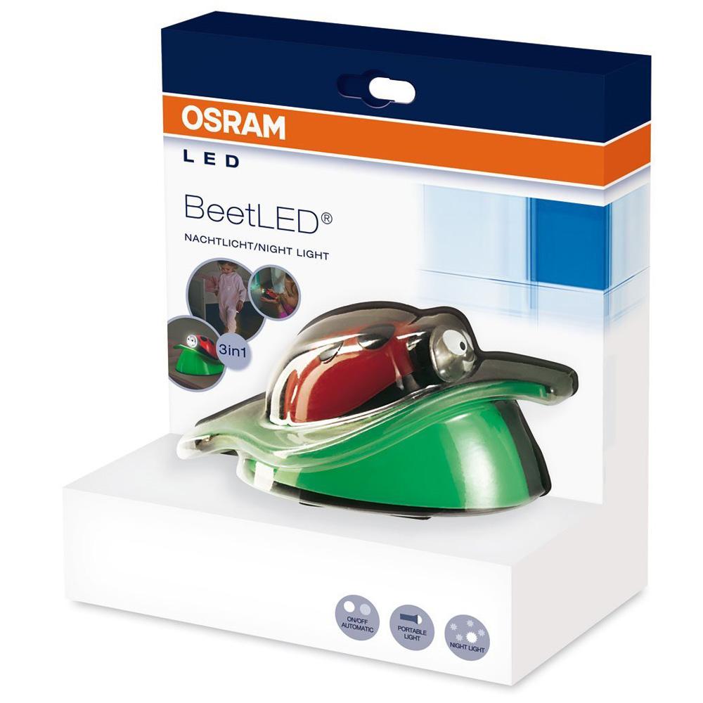 osram beet led nachtlicht mit taschenlampe marienk fer design nachtlampe 46618. Black Bedroom Furniture Sets. Home Design Ideas