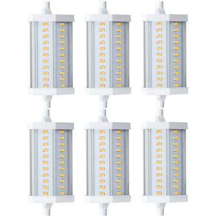 6 x paulmann led leuchtmittel 12w r7s kaltwei 4000k 118mm. Black Bedroom Furniture Sets. Home Design Ideas
