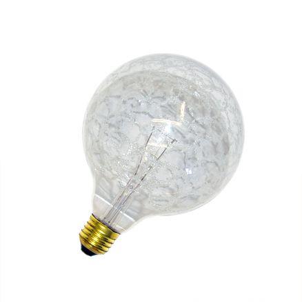 solano globe gl hbirne 100w e27 krokoeis klar g120 100 watt 120mm globelampe ebay. Black Bedroom Furniture Sets. Home Design Ideas