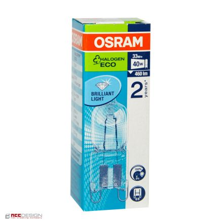 10 x osram g9 eco halogen stiftsockellampe 33w 40w halogenlampe 66733 halopin ebay. Black Bedroom Furniture Sets. Home Design Ideas