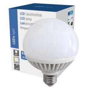 LED Globe G95 10W = 60W 820 Lumen matt E27 warmweiß 3000K 150°  Leuchtmittel