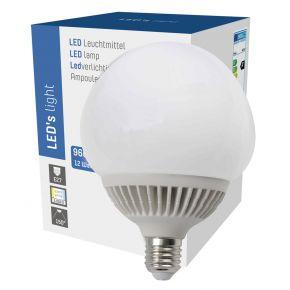 LED Globe G120 12W = 70W 960 Lumen matt E27 warmweiß 3000K 150° Leuchtmittel