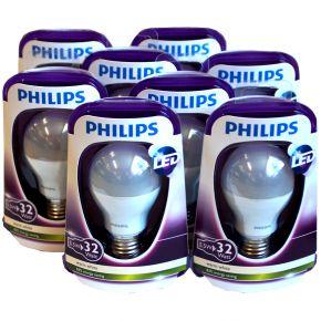 8 x Philips LED Glühbirne 5,5 W = 32W warmweiß 2700K E27 Sparlampe UVP 111,92?