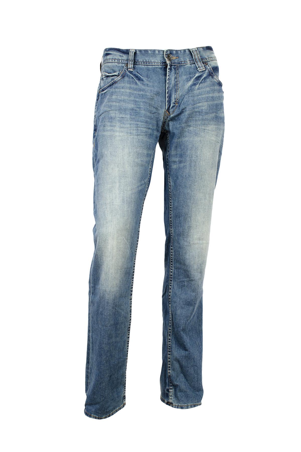 qs by s oliver herren jeanshose john standard fit blue ebay. Black Bedroom Furniture Sets. Home Design Ideas
