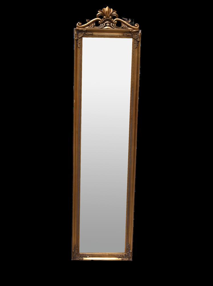 my flair barock standspiegel gold 180 x 45 x 6 cm uvp 89 95. Black Bedroom Furniture Sets. Home Design Ideas