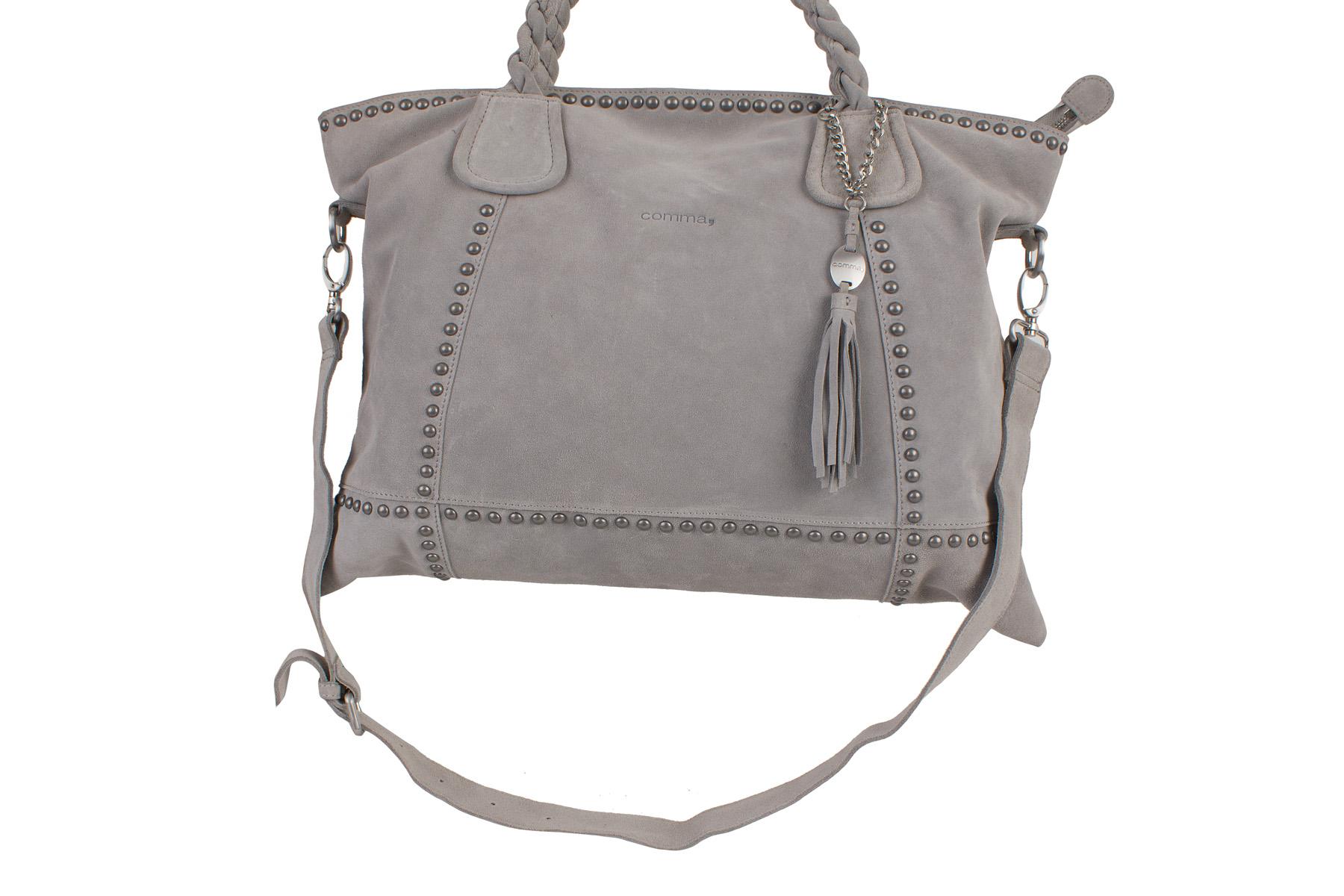 oliver bags damen shopper tasche grau smoked pearl grey 10. Black Bedroom Furniture Sets. Home Design Ideas