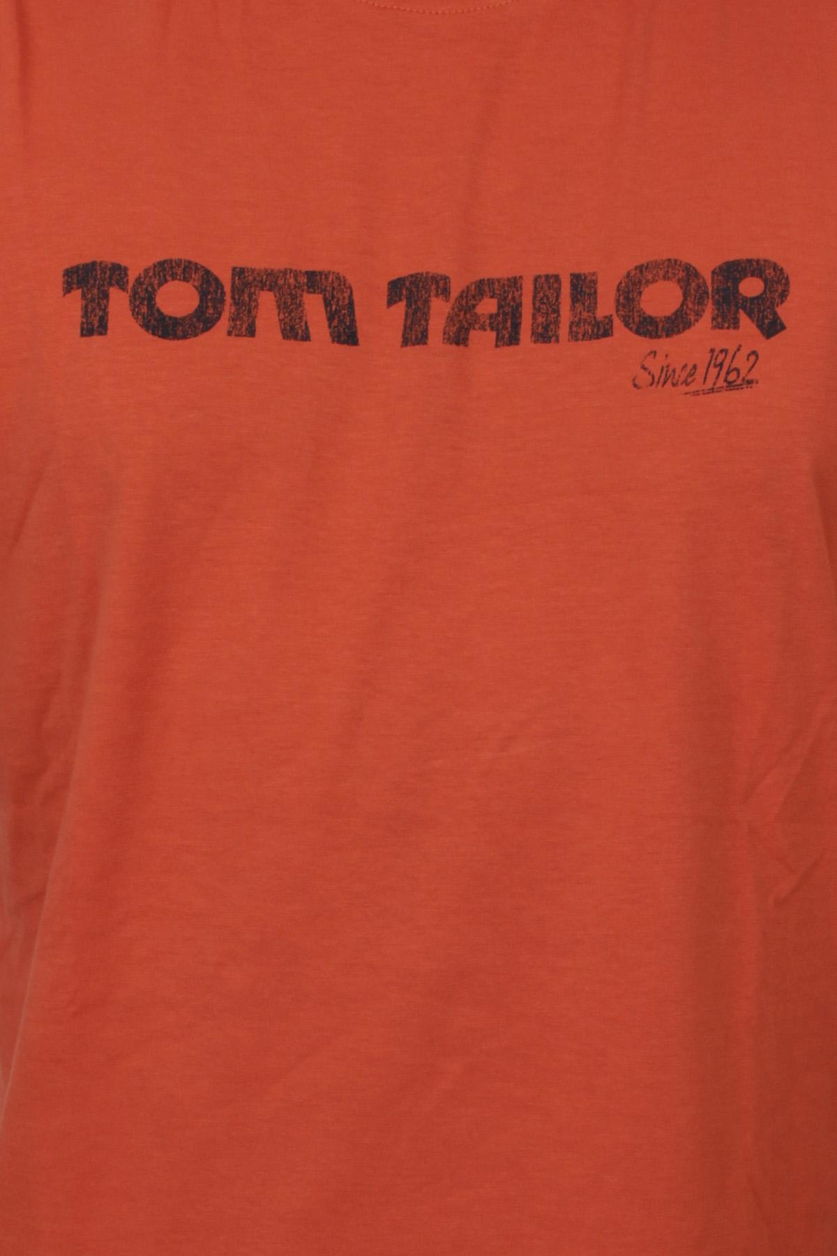 tom tailor herren t shirt orange ebay. Black Bedroom Furniture Sets. Home Design Ideas