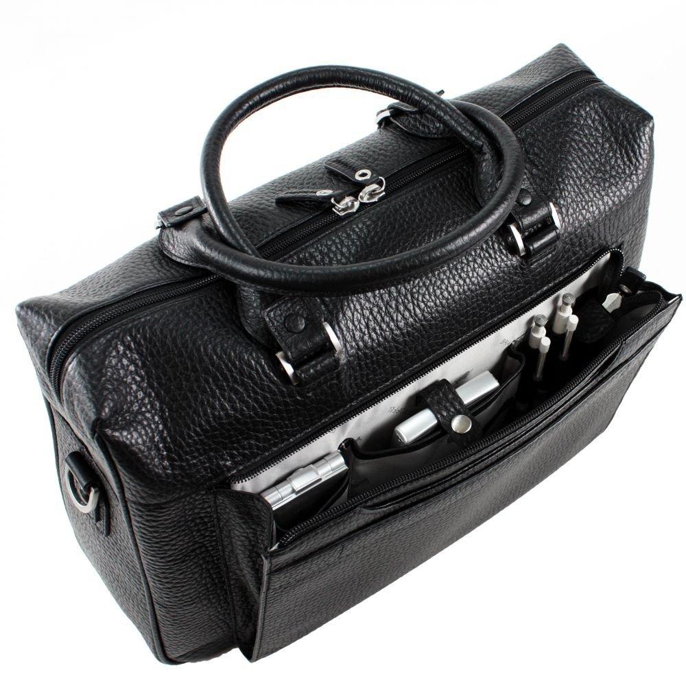 braun b ffel herren businesstasche tough leder schwarz ebay. Black Bedroom Furniture Sets. Home Design Ideas