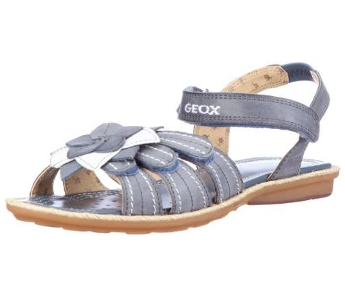 geox m dchen sandalen fashion sandalen jr sandal milk blau gr 26 uvp 64 90 ebay. Black Bedroom Furniture Sets. Home Design Ideas