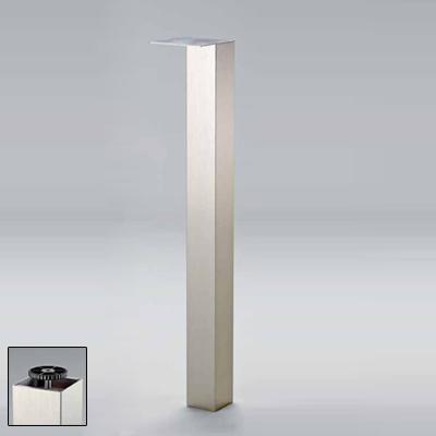 neu st tzfu tischbein 1100 mm hoch 80x80 mm edelstahl optik ebay. Black Bedroom Furniture Sets. Home Design Ideas