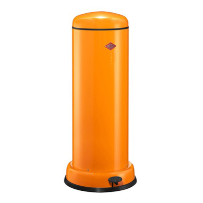 wesco abfallsammler big baseboy 30 liter orange m lleimer. Black Bedroom Furniture Sets. Home Design Ideas