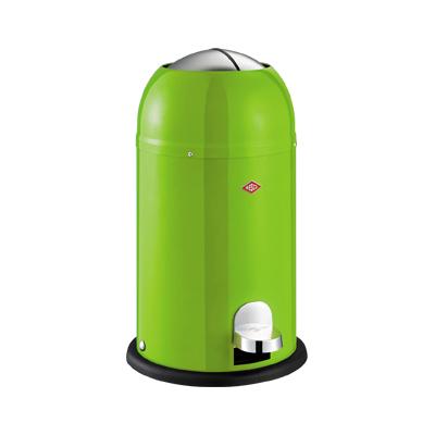 wesco abfallsammler kickmaster junior 15 liter limegreen abfalleimer gr n top. Black Bedroom Furniture Sets. Home Design Ideas
