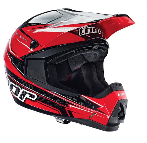 thor helm quadrant stripe rot 2014 motocross enduro. Black Bedroom Furniture Sets. Home Design Ideas