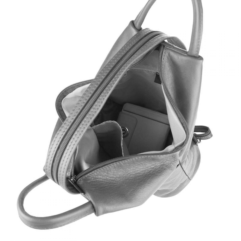 italy damen echt leder rucksack tasche schultertasche backpack daypack reise bag ebay. Black Bedroom Furniture Sets. Home Design Ideas