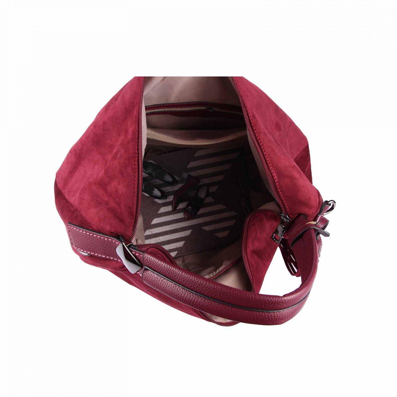 damen bowling tasche shopper handtasche fransen. Black Bedroom Furniture Sets. Home Design Ideas