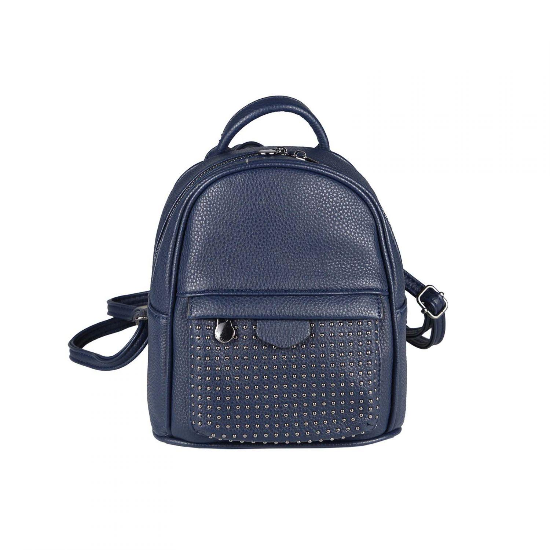damen mini rucksack stadtrucksack backpack nieten daypack tasche cityrucksack ebay. Black Bedroom Furniture Sets. Home Design Ideas